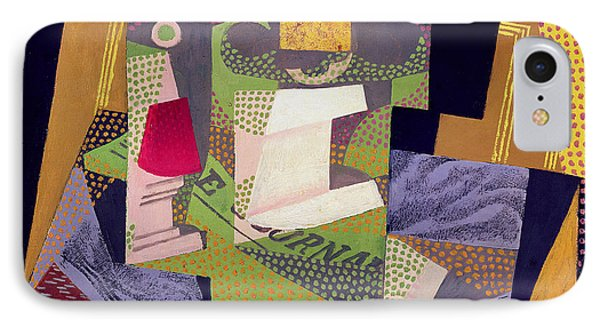 Composition On A Table Phone Case by Juan Gris