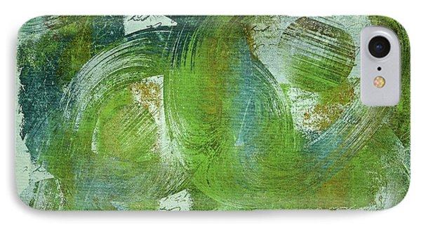 Composix - V55a - Green IPhone Case