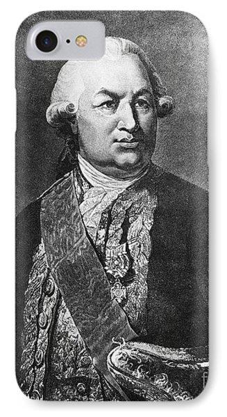 Comte De Grasse (1722-1788) Phone Case by Granger