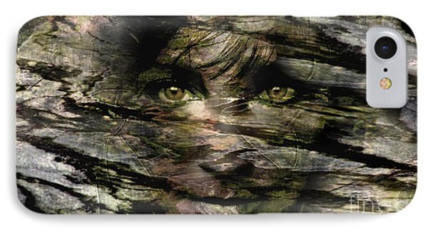 Concealed Emotions IPhone Case by Tlynn Brentnall