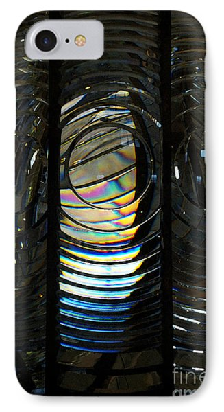 Concentric Glass Prisms - Water Color IPhone Case