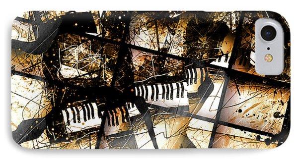Concerto V IPhone Case by Gary Bodnar