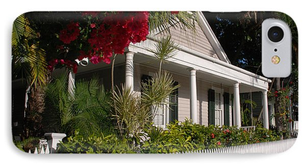 Conch House In Key West Phone Case by Susanne Van Hulst