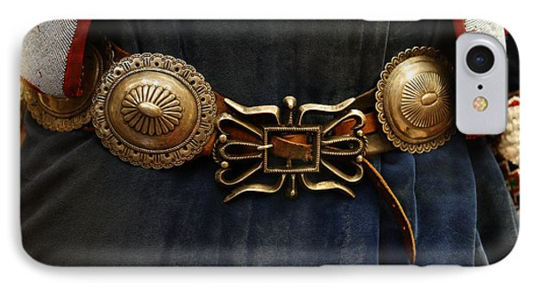 Concho Belt IPhone Case by Marilyn Hunt