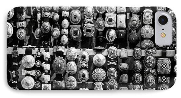 Concho Belts IPhone Case by Nina Pilgrim