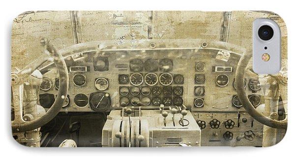 Concord Cockpit IPhone Case
