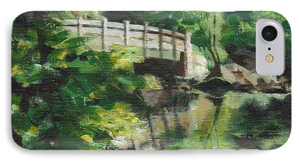 Concord River Bridge IPhone Case by Claire Gagnon
