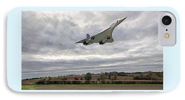 Concorde - High Speed Pass_2 IPhone Case by Paul Gulliver
