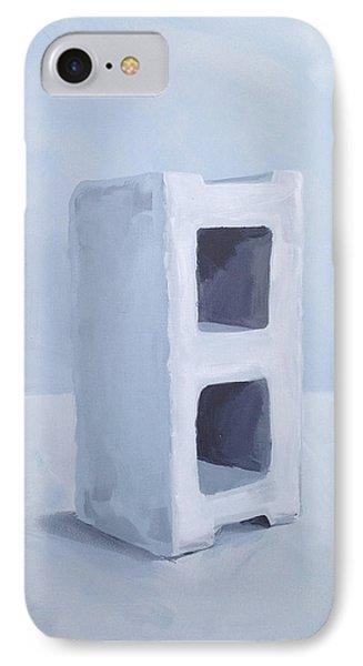 Concrete Block IPhone Case by Jeffrey Bess