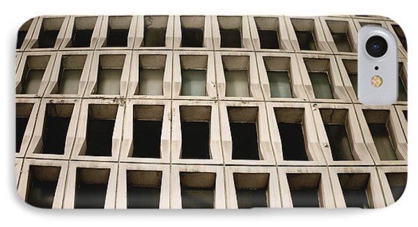 Concrete Building Pattern IPhone Case