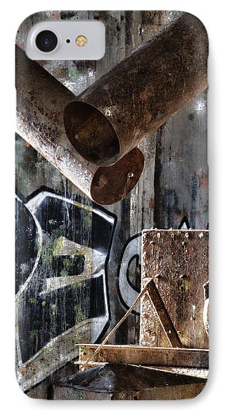 Concrete Central 8 Phone Case by Chuck Alaimo