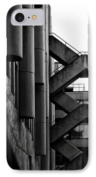 Concrete Stairways IPhone Case by Philip Openshaw
