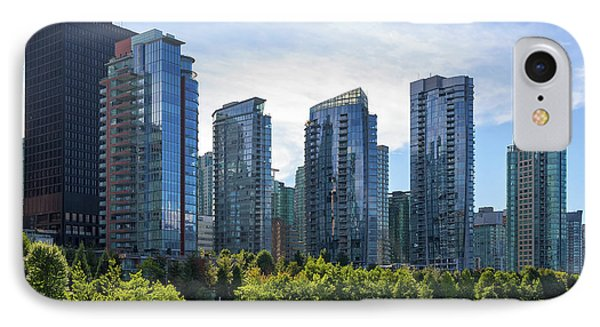 Condominium Waterfront Living In Vancouver Bc Phone Case by David Gn
