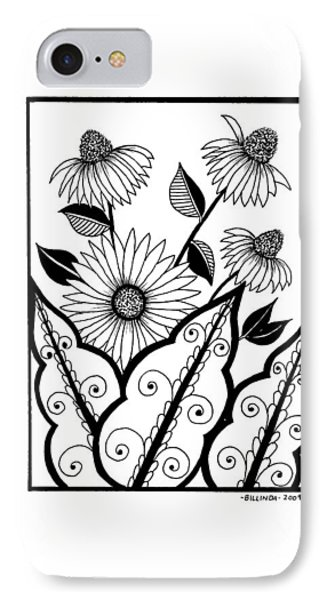 Cone Flower IPhone Case