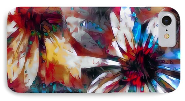 Cone Flower Fantasia I IPhone Case by Jack Torcello