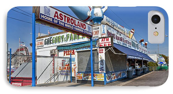 Coney Island Memories 11 Phone Case by Madeline Ellis