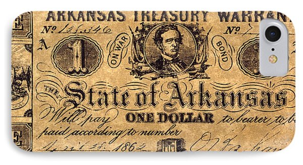 Confederate Banknote Phone Case by Granger