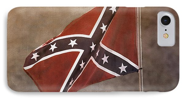 Confederate Battle Flag IPhone Case by TnBackroadsPhotos