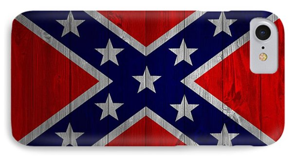 Confederate Flag Barn Door IPhone Case