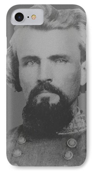 Confederate General Nathan Forrest IPhone Case by War Is Hell Store