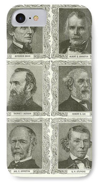 Confederate Leaders IPhone Case by American School