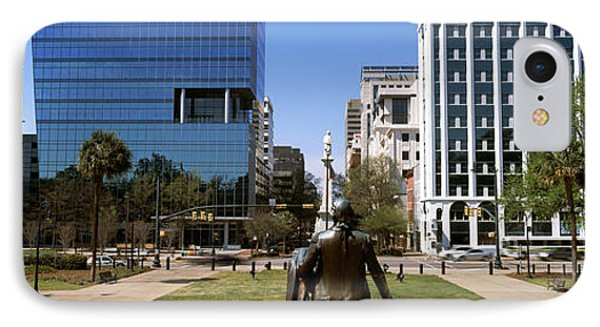 Confederate Monument Viewed From South IPhone Case by Panoramic Images