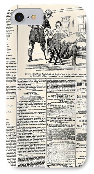 Confederate Newspaper Phone Case by Granger