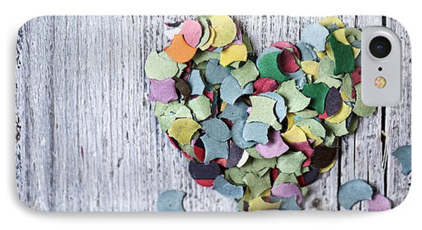 Confetti Heart IPhone Case by Nailia Schwarz