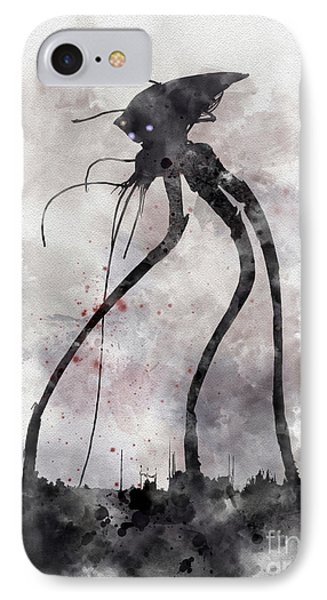 Conflict IPhone 7 Case by Rebecca Jenkins