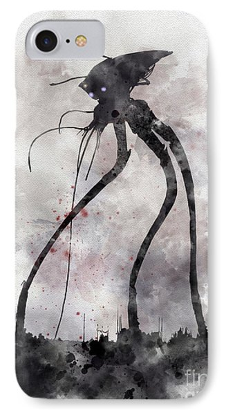 Conflict IPhone Case by Rebecca Jenkins