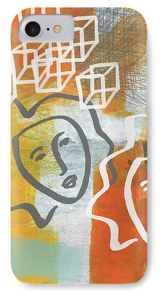 Conflicting Emotions IPhone Case by Linda Woods