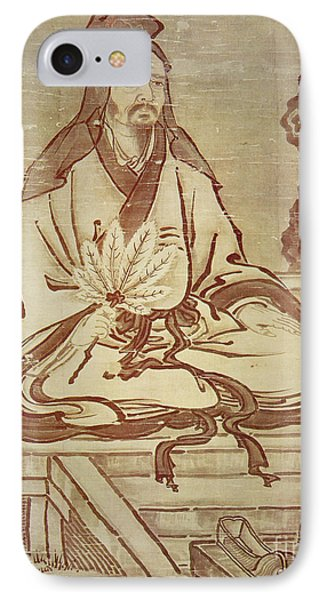 Confucius, Chinese Thinker And Social Philosopher  IPhone Case by Kano Tanyu