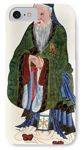 Confucius  Teacher And Philosopher IPhone Case by English School