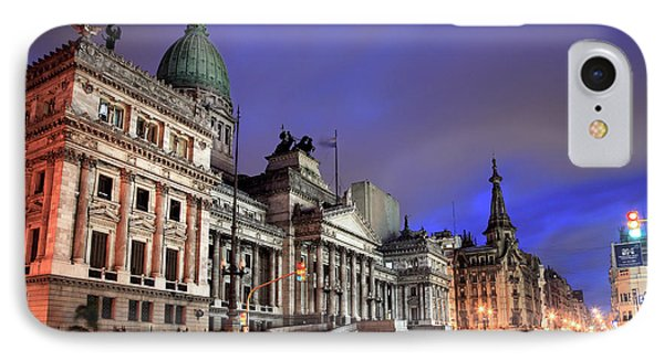 IPhone Case featuring the photograph Congress  by Bernardo Galmarini