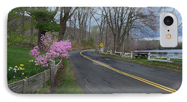 IPhone Case featuring the photograph Connecticut Country Road by Bill Wakeley