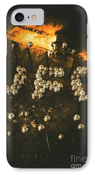 Aliens iPhone 7 Case - Connecting To Ufology by Jorgo Photography - Wall Art Gallery