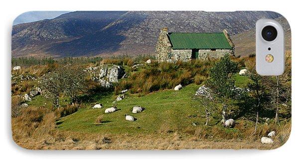 Connemara Cottage Ireland IPhone Case by Pierre Leclerc Photography