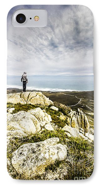 Conquering Trial Harbour IPhone Case by Jorgo Photography - Wall Art Gallery