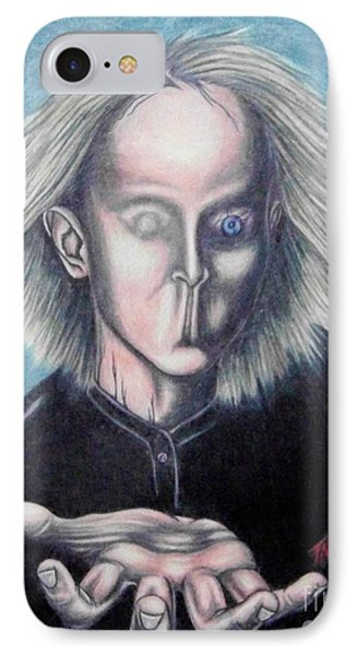 IPhone Case featuring the drawing Consciousness by Michael  TMAD Finney