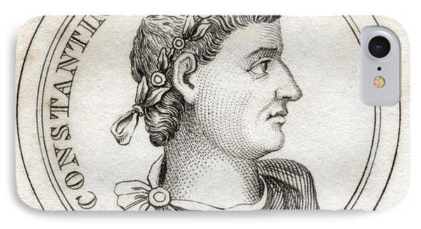 Constantine I Flavius Valerius IPhone Case