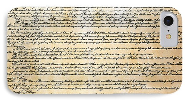 Constitution Phone Case by Granger