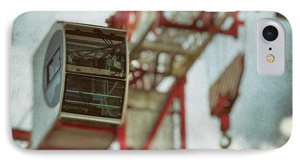 Construction Crane Phone Case by Wim Lanclus
