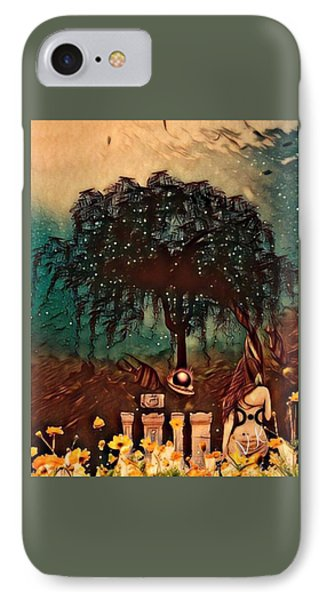 Consulting The Mother IPhone Case by Vennie Kocsis