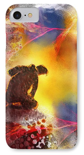 Contemplatif IPhone Case by Francoise Dugourd-Caput