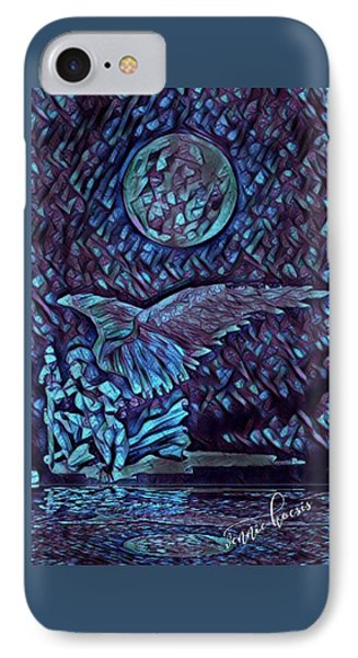 Contemplating The Next Move IPhone Case by Vennie Kocsis