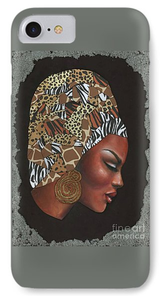 Contemplation Too IPhone Case by Alga Washington