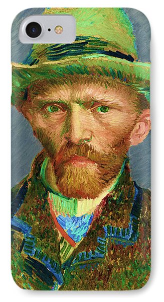 Contemporary 2 Van Gogh IPhone Case by David Bridburg