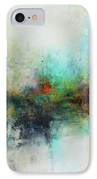 Contemporary Abstract Art Painting IPhone Case by Patricia Lintner