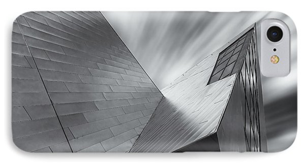 IPhone 7 Case featuring the photograph Contemporary Architecture Of The Shops At Crystals, Aria, Las Ve by Adam Romanowicz