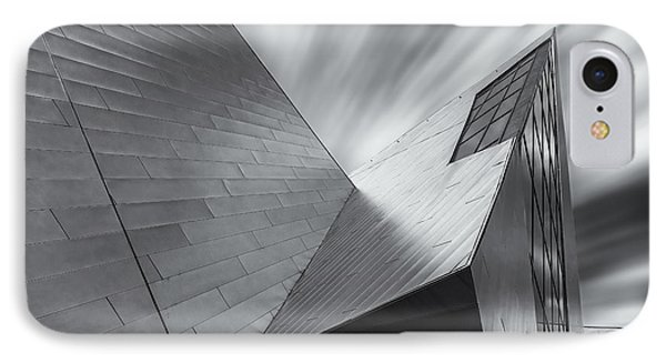 IPhone Case featuring the photograph Contemporary Architecture Of The Shops At Crystals, Aria, Las Ve by Adam Romanowicz